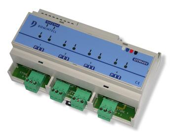 Modulo 4 uscite motori - DTRV01